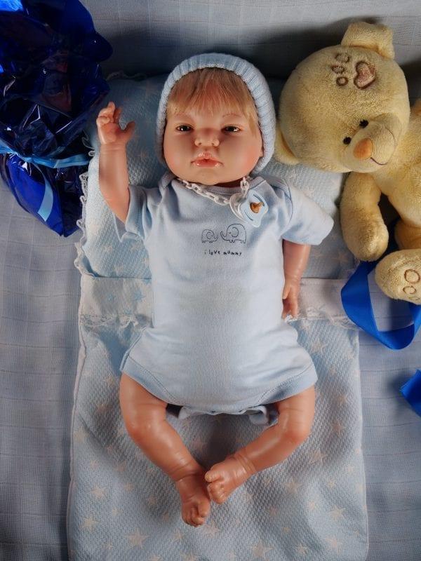 Bebé reborn Mikel 3