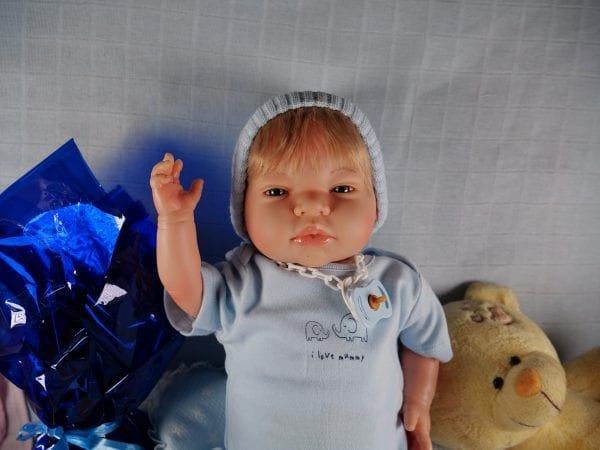 Bebé reborn Mikel 4