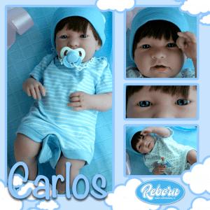 bebe reborn carlos