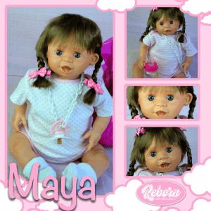 bebe reborn maya