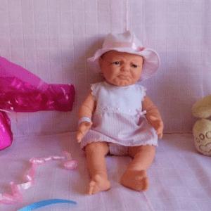 bebe reborn rasgos llorosos