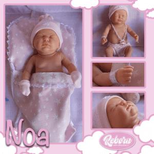 bebe reborn dormida