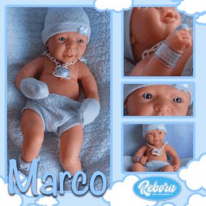 bebe reborn marcos