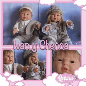 bebes reborn mellizos ivan chenoa