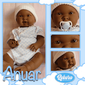 bebe reborn negro anuar