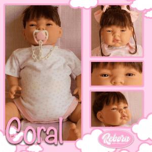 bebe reborn coral