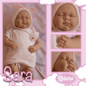 bebe reborn posicion dormida