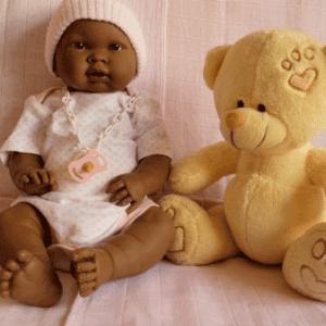 bebe reborn negra