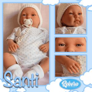bebe reborn santi